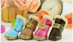 Pet Slip Resistant Waterproof Snow Boots