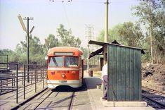 Trolebus que recorria la ruta de la Avenida Insurgentes desde la colonia Roma hasta el rumbo de San Angel, al sur de la Ciudad de Mexico.