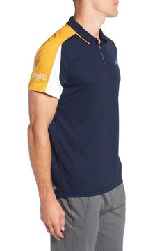 Product Image 2 Polo Shirt Outfits, Mens Polo T Shirts, Pique Polo Shirt, Sport Outfits, Rugby Shirts, Camisa Polo, Corporate Shirts, Polo Shirt Design, Lacoste Sport