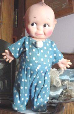Cameo Kewpie Doll JLK Orig Pajamas