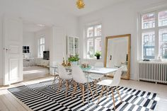 Scandinavian Tables Bring Simplicity To The Dining Room - 15 Beautiful Ideas