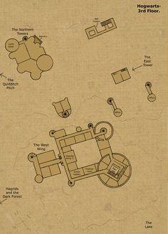 Hogwarts Castle 3rd Floor