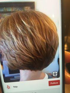 Short Bob Cuts, Short Hair Cuts For Women, Woman Hairstyles, Short Hairstyles, Best Bob Haircuts, Layered Cuts, Great Hair, Hair Dos, Beauty Hacks