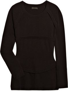 Burberry Prorsum Ribbed Wool-blend Sweater in Brown