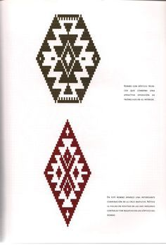 TELAR MAPUCHE.pdf Loom Patterns, Cross Stitch Patterns, New Passport, American Art, Stencils, Weaving, Carpet, Textiles, Tapestry