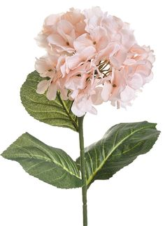 "LARGE HYDRANGEA STEM 29"" - CHOOSE FROM 3 COLORS"