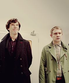 """A believable friendship, of course, depends most of all on casting. """"Benedict was the only person we offered Sherlock to,"""" Gatiss says. """"Casting John [Watson] was much harder. Then, when we got them in the same room together, Steve [Moffat] just said to me, 'Look, there's the series.' And it was absolutely true. It's an instant chemistry, and they have it in real life as well as on screen."""""""