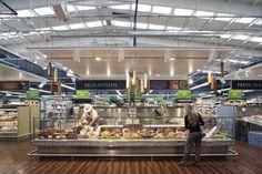 Supermarket Interior Design show as slideshow