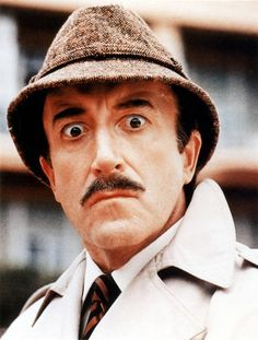 Peter Sellers as Chief Inspector Clouseau Pink Panther. He was awesome in all the Pink Panther movies, so funny! British Comedy, British Actors, British Artists, Comedy Actors, Actors & Actresses, I Movie, Movie Stars, Make Em Laugh, Cinema