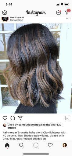 Hair Color And Cut, Hair Color Dark, Cool Hair Color, Brown Hair Colors, Redken Hair Color, Hair Color Balayage, Dark Balayage, Haircolor, Redken Hair Products