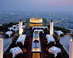 Sky Bar @ Lebua State Tower   Bangkok