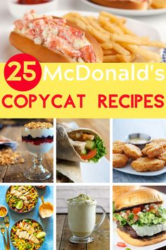 You're not going to want to miss these McDonald's Copycat recipes. Not only can you make your favorites at home, but they taste better, too! Mcdonalds Oatmeal Recipe, Mcdonalds Recipes, Oatmeal Recipes, Mcdonald's Pancake Recipe, Starbucks Sandwiches, Fish Recipes, Lunch Recipes, Cooking Recipes, Sweet Tea Recipes