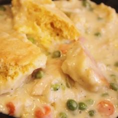 Chicken Cornbread Pot Pie by Happenstanced
