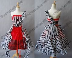 Tim Burton Alice In Wonderland Alice Red Court Dress  <3 so much