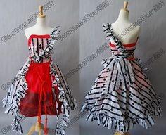 Tim Burton Alice In Wonderland Alice Red Court Dress  <3 so much