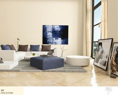 Rendering of Living room interior with a herringbone parquet floor and comfortable modern modular upholstered lounge suite with artwork on the walls living room interior royalty free stock images stock photo Lounge Suites, Parquet Flooring, Interior Photo, Home Look, Living Room Interior, Cool Furniture, Room Inspiration, Sweet Home, New Homes