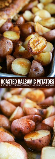 Roasted Balsamic Potatoes – Side Dish Recipe