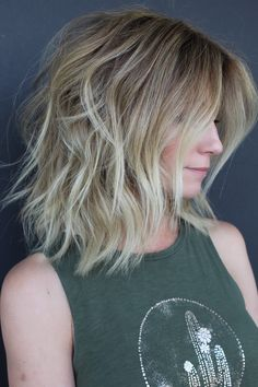 Hand Tied Extensions, hair extensions, Rooted blonde lob, bob, lob hair styles, blonde.  1 row of NBR Hair Extensions.  Work by Nicole Bencurik, Phoenix, AZ. INSTAGRAM @hairmechanic.refinery208 Colored Hair Extensions, Extensions Hair, Bob 1, Blonde Lob, Lob Hairstyle, New Hair, Phoenix, Hair Ideas, Hair Color