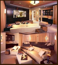 Have you ever wondered what to do with your UnFinished Basement! Electronic Integration can help with adding a Home Theater in the Finished Basement? Maybe a Home Theater/Game room