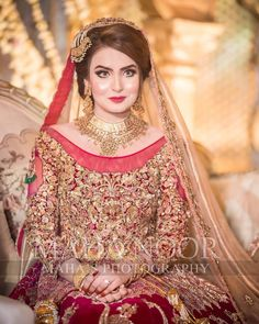 Asian Wedding Dress Pakistani, Beautiful Pakistani Dresses, Pakistani Fashion Party Wear, Bridal Mehndi Dresses, Asian Bridal Dresses, Bridal Outfits, Bridal Lehenga, Lehenga Choli, Pakistani Bridal Makeup Hairstyles