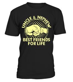 Uncle and Nephew Funny Uncle T-shirt, Best Uncle T-shirt