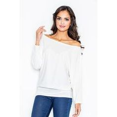 M037  Off shoulder tunic