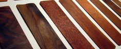 TYPE OF WOOD (selected)