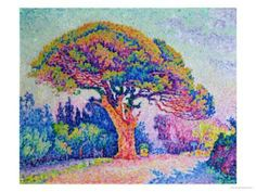 Paul Signac, painted this in the 5th grade! such memories, learned all about Paul signac. Love is art!