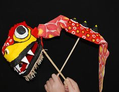 How to Make a Chinese Dragon Puppet