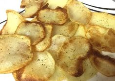 Homemade Crispy Potato Chips