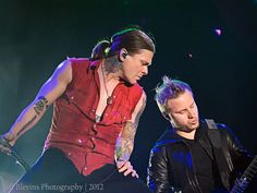 Zach Myers and Brent Smith