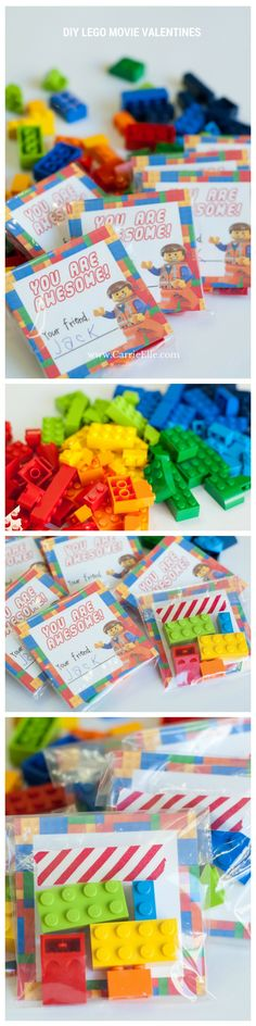 These DIY Lego Movie Valentines are super simple to make (the kids can put these together), and kids LOVE them! They are so cute. And there's a FREE printable included!