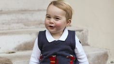 The Duke and Duchess of Cambridge have released three official Christmas photographs of Prince George.