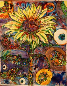 Sun Flower Psychedelic by *bear48 on deviantART