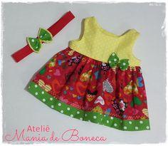 Dress for Baby Alive 16' by AtelieManiadeBoneca on Etsy