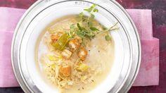 Feine Sauerkrautsuppe