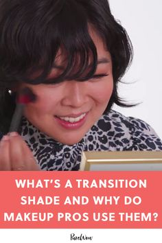What's a Transition Shade and Why Do Makeup Pros Use Them? What's a Transition Shade and Why Do Makeup Pros Use Them? Drugstore Makeup Dupes, Makeup Eyeshadow, Beauty Hacks, Beauty Dupes, Beauty Makeup, Makeup Routine, Skincare Routine, Date Night Makeup, Makeup For Older Women