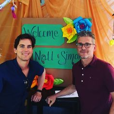 "8,873 Likes, 300 Comments - Matt Bomer (@mattbomer) on Instagram: ""Thank you Hollygrove for giving Simon and I a tour yesterday. The work you're doing with at risk…"""