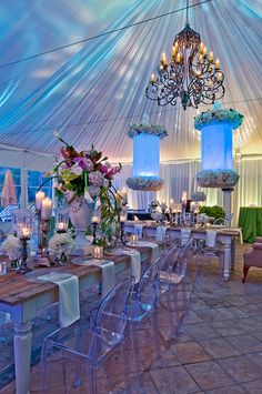 Wow!! What a romantic backdrop for a wedding!  ZaZa Houston Photo Gallery