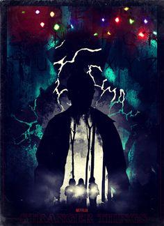 Stranger Things fan art poster