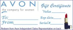 Avon Display Ideas | Click to Join Avon Online! Enter Ref Code: gwalden