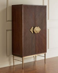 Shop Holland Bar Cabinet from Global Views at Horchow, where you'll find new lower shipping on hundreds of home furnishings and gifts. Tall Bar Cabinet, Modern Bar Cabinet, Home Bar Cabinet, Modern Cabinets, Bar Cabinets For Home, Tall Cabinets, Cupboards, Bar Furniture, Modern Furniture