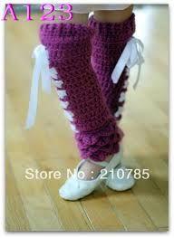 rodilleras crochet -