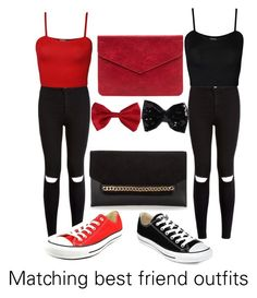 """""""Matching best friend outfit"""" by maddyb24 ❤ liked on Polyvore featuring WearAll, Converse and Torrid"""
