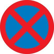 No stopping (Clearway) Driving Theory, Pedestrian Crossing, Giving, Transportation, Kindergarten, Preschool, Cricut, Decorations, Signs