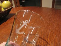 laurie's-projects: Nautical Etched Glassware how to
