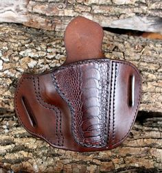 Tin Badge Leather 1911 Officers Model Holster by TinBadgeLeather, $109.00