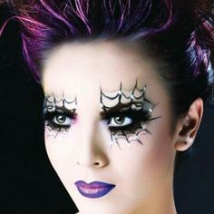 Spider woman make up