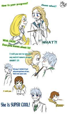 the big four: elsa: jackfrost: rapunzel: hiccup: jelsa: The Big four and Elsa Doodles by Lime-Hael.deviantart.com on @deviantART