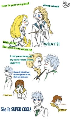 The Big four and Elsa Doodles by Lime-Hael.deviantart.com on @deviantART